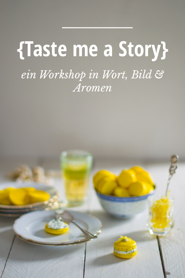 Taste me a story Workshop