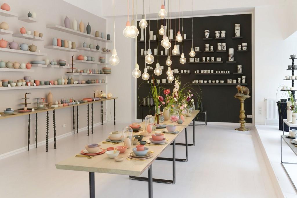 """Der Showroom von """"feinedinge*"""" in der Wiener Margaretenstraße. Foto: feinedinge*"""