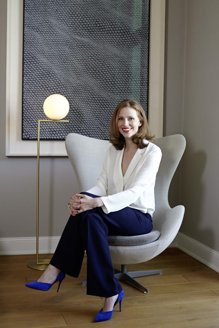 Buchautorin, Journalistin, Bloggerin: Stefanie Luxat. Foto: Brita Sönnichsen