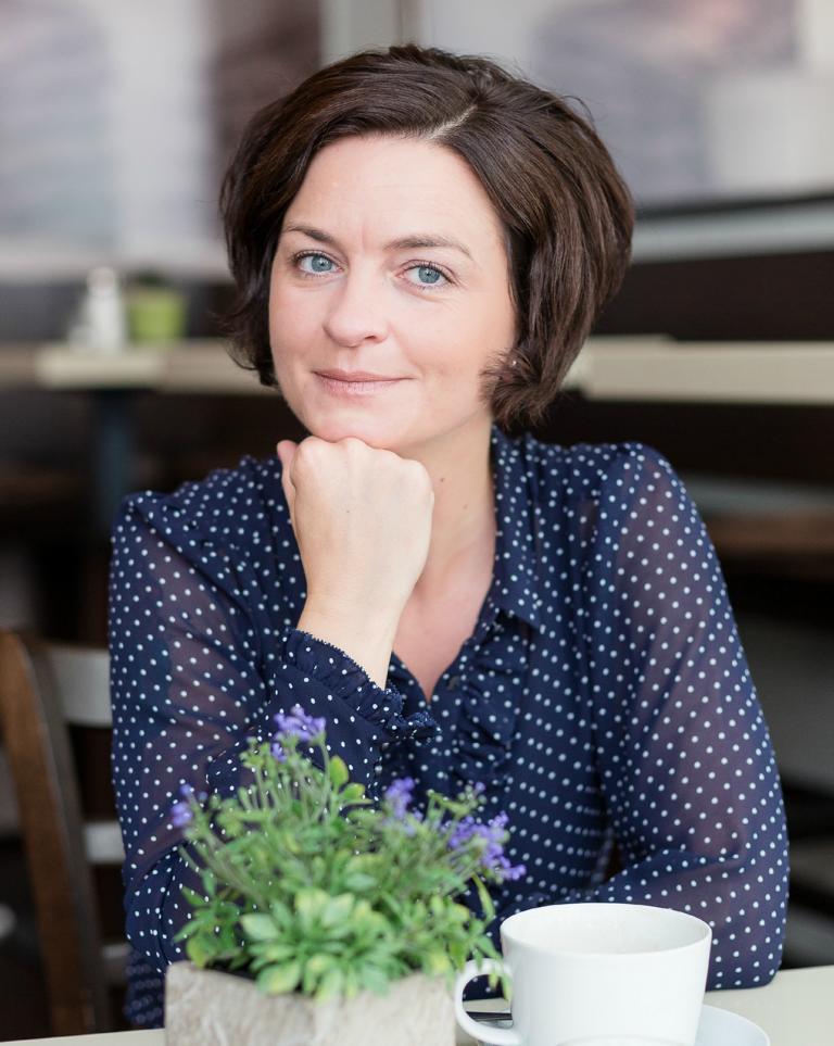 "Denise Colquhoun aka Ordnungsexpertin ""Fräulein Ordnung""."