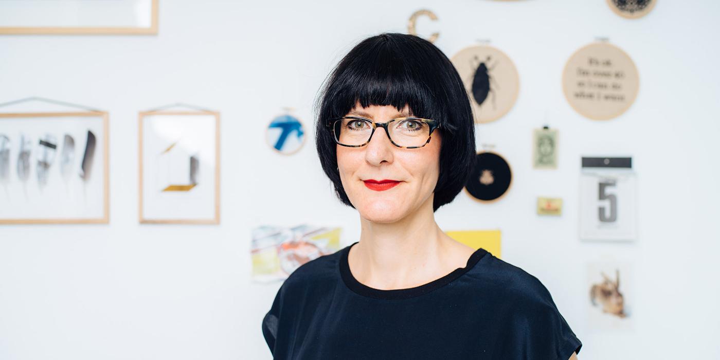 """Christiane Hübner, Designerin von """"renna deluxe""""."""